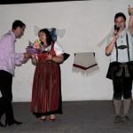 – Csery Dalibor alpolgármester és a Sramli Kings (foto: Varga Szilvia)
