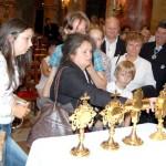 Szent László emlékmise 2011 – Nyitra – ereklyék(foto: Balkó Gábor)