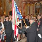 Szent László emlékmise 2011 – Nyitra – kivonulás – Szent György Lovagrend (foto: Balkó Gábor)