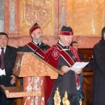 Szent László emlékmise 2011 – Nyitra – kitüntetések – Dr. Nagy László rendi kormányzó üdvözlő beszéde (foto: Balkó Gábor)