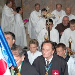 Szent László emlékmise 2011 – Nyitra – bevonulás – Szent György Lovagrend (foto: Balkó Gábor)