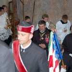 Szent László emlékmise 2011 – Nyitra – bevonulás – Szent László és Szent György Lovagrend (foto: Balkó Gábor)