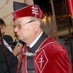Szent László emlékmise 2011 – Nyitra – bevonulás – Dr. Nagy László rendi kormányzó (foto: Balkó Gábor)