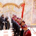 Szent László emlékmise 2011 – Nyitra – bevonulás – Magyar Királyi Szent László Lovagrend (foto: Balkó Gábor)