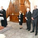 100 éves a Nyitrai Református Templom – A nyitrai evangélikus egyház képviselői (foto: J Ondrejička)