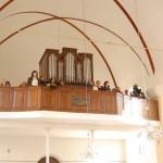100 éves a Nyitrai Református Templom – A Konstantín Egyetem Magyar Kórusa (foto: Balkó Gábor)