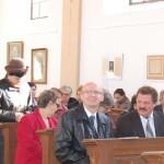 100 éves a Nyitrai Református Templom – Elül balra Komzsík Attila a nyitrai Konstantín Fikozófus Egyetem Közép-európai Tanulmányok Karának dékánja (foto: Balkó Gábor)