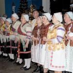 Karácsony Zoboralján – Csendes éj…<br>karácsony, Zoboralja, Vicsápapáti, hagyományőrzők (foto: Varga Szilvia)