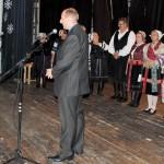 Karácsony Zoboralján – Jozef Holúbek Vicsápapáti polgármestere <br>karácsony, Zoboralja, Vicsápapáti, hagyományőrzők (foto: Varga Szilvia)