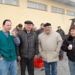 Disznóölés Kolonban – Disznóölés Kolonban<br>disznóölés, Kolon, Zoboralja (foto: Balkó Gábor)