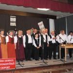 Felcsendül a dal Zoboralján – Zsére – Tatabányai Bányász Dalkör<br>folklór, hagyományőrzők, Zoboralja, Zsére (foto: Varga Szilvia)