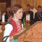 Szent László Emlékmise 2012 – Szalay Éva – Kolon<br>Szent László emlékmise, Nyitra, Zoboralja, Zobor-vidék (foto: Balkó Gábor)
