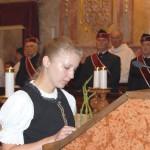 Szent László Emlékmise 2012 – Tamási Gabriella – Nagykér<br>Szent László emlékmise, Nyitra, Zoboralja, Zobor-vidék (foto: Balkó Gábor)