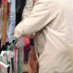 Feltámadási menet Zoboralján – Nyitra – 2012 – Feltámadási menet Zoboralján – Nyitra – 2012<br>Zoboralja, Zobor-vidék, Nyitra-vidék, Szent László király templom, Feltámadási menet (foto: Balkó Szabina)