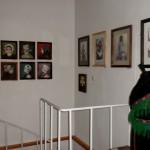 Zoboralja Színei – Dr. Simek Viktor – a kiállító terem egy része<br>Festmény, kiállítás, Simek Viktor, Komárom, Limes Galéria, Zoboralja színei (foto: Simek Veronika)