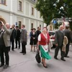 Megemlékezés Esterházy Jánosra a morvaországi Mirovban – Olomouc<br>Esterházy János, Mirov, megemlékezés, felvidéki mártír, CSMMSZ osztravai szervezete (foto: Szabó Szerén)