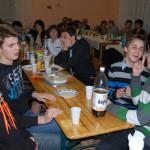 I. Jelmezes Családi Batyubál – asztaltársaság és egyéb – I. Jelmezes Családi Batyubál<br>Zoboralja, Zobora-vidék, Nyitra-vidék, Kolon, jelmezes batyubál, Márk atya (foto: Balkó Gábor)