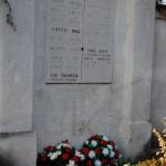 Megemlékezés az 1848/49-es forradalomra és szabadságharcra – Erdősi Imre branyiszkói hős pap megkoszorúzott sírja<br>1848/49-es forradalom és szabadságharc, Nyitra, Zoboralja, Zobor-vidék, Nyitra-vidék (foto: Balkó Gábor)