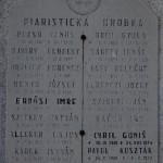 Megemlékezés az 1848/49-es forradalomra és szabadságharcra – Piarista sírbolt<br>1848/49-es forradalom és szabadságharc, Nyitra, Zoboralja, Zobor-vidék, Nyitra-vidék (foto: Balkó Gábor)