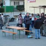 Hagyományos farsangi disznóölés – Hagyományos farsangi disznóölés<br>Zoboralja, Zobora-vidék, Nyitra-vidék, Kolon, disznóölés (foto: Balkó Gábor)