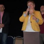 1. Borkóstoló Nyitragerencsérben – 1. Borkóstoló Nyitragerencsérben – Vrábel Anna polgármesterasszony<br>Nyitragerencsér, Zoboralja, Zobor-vidék, Nyitra-vidék, borkóstoló (foto: Balkó Gábor)