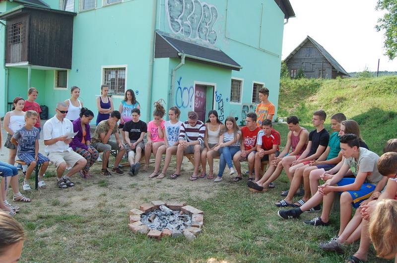 Mankós tábor Kolonban - péntek reggel