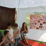 Mankós tábor Kolonban – Mankós tábor Kolonban<br>Kolon, Zoboralja, Zobor-vidék, Nyitra-vidék, Márk atya, egyházi tábor (foto: Balkó Gábor)