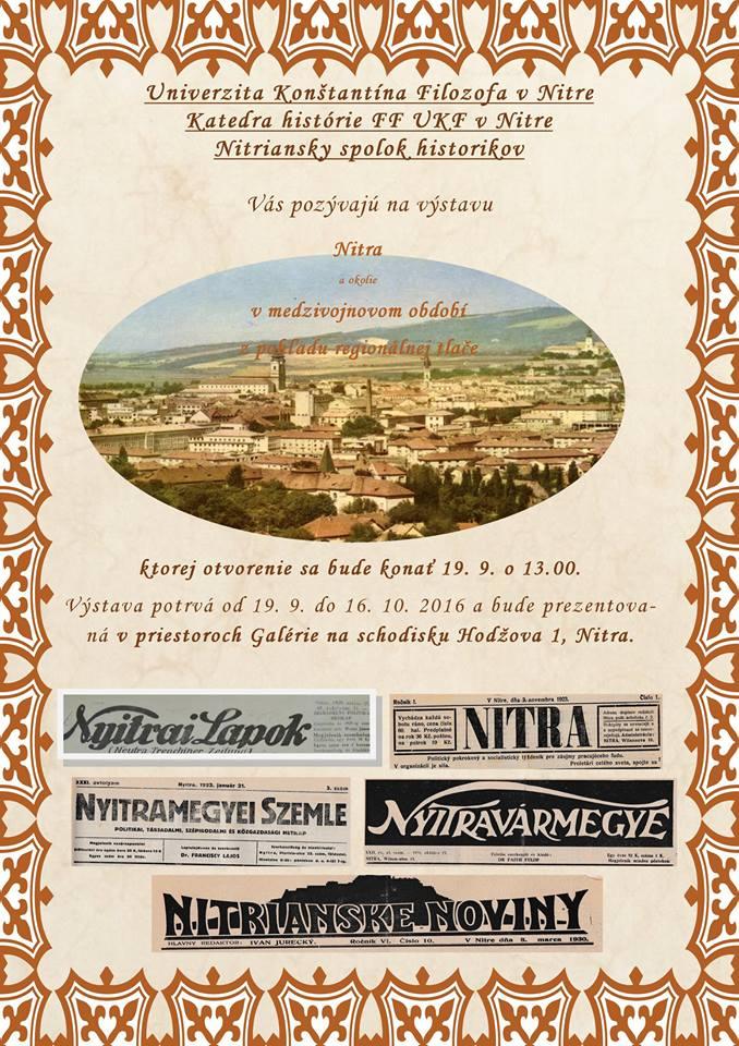 Nyitra története 1918-1939