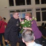 V.Nagy János kiállításának megnyitója – V.Nagy János és felesége (foto: Balkó Gábor)