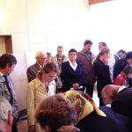 Kopjafaavatás az Aradi vértanúk emlékére – Aradi vértanúk – kiállítás (foto: Balkó György)