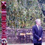 Kopjafaavatás az Aradi vértanúk emlékére – Vörös Gyula, Csajág polgármestere (foto: Balkó György)