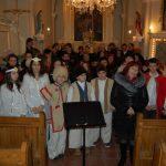 Karácsony 2016 – Csitár – összkar-búcsúzás – Vinkovič Zsuzsanna polgármester ôs Józsa Mónika karnagy (foto: Balkó Gábor)