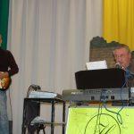 Karácsonyi koncert Pogrányban – Kováč Laci és barátai – 2016. dec. 10. – Balról Koller Kázmér, Kováč Laci (foto: Balkó Gábor)