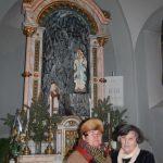 Hálaadó szentmise Jókai Mária tiszteletére 80. születésnapja alkalmából – Jókai Mária és Budinszky Júlia (foto: Balkó Gábor)