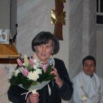 Hálaadó szentmise Jókai Mária tiszteletére 80. születésnapja alkalmából – Jókai Mária (foto: Balkó Gábor)