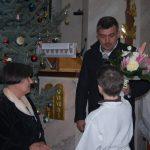 Hálaadó szentmise Jókai Mária tiszteletére 80. születésnapja alkalmából – Bujalko Marian köszönti Jókai Máriát (foto: Balkó Gábor)