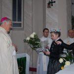 Hálaadó szentmise Jókai Mária tiszteletére 80. születésnapja alkalmából – Bíró László püspök (foto: Balkó Gábor)
