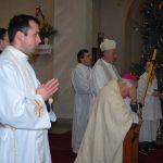 Hálaadó szentmise Jókai Mária tiszteletére 80. születésnapja alkalmából – Bíró László püspök úr (foto: Balkó Gábor)