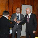 Az Ahai Tájház megnyitója – fogadás – 2017. jan. 12. – Jókai Mária, Bukovszky László és Tóth Tibor (foto: Balkó Gábor)