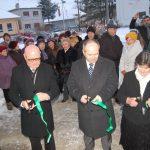Az Ahai Tájház megnyitója – 2017. jan. 12. – Balról: Tóth Tibor, Bukovszky László és Jókai Mária (foto: Balkó Gábor)