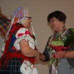 A 80 éves Jókai Mária köszöntése – Aha – 2017. jan. 22. – Lédeci Hajnalkert HCS – Lédeci Hajnalkert Hagyományőrző Csoport és Jókai Mária (foto: Balkó Gábor)