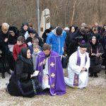 Keresztúti ájtatosság Márk atyával és a Zoboraljai Hagyományőrzőkkel(foto: Balkó Gábor)