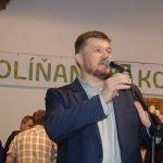 Koloni borkóstoló 2017 – Balkó Róbert, Kolon polgármestere, a Zoboralji Községek Társulásának elnöke (foto: Balkó Gábor)