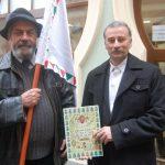 Villőzés Komáromban – Balról: Pécsi L. Dániel és Ölvetzky Árpád (foto: Balkó Gábor)