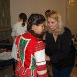 Villőzés Komáromban – Maga Judit, a Gímesi AI igazgatóhelyttese (foto: Balkó Gábor)