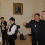 Villőzés Komáromban – Kiss Róbert esperes, püspöki helynők és Maga Ferenc (foto: Balkó Gábor)
