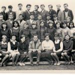 A nyitrai E. Guderna középiskola 2. magyar érettségiző osztálya, 1964-67(foto: )