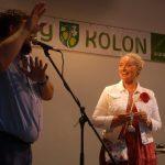 Kasztrolfeszt 2017 – Kolon – Eva Pavlíková művésznő és Balkó Róbert, Kolon polgármestere (foto: Balkó Gábor)