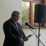 Tóth Károly emléktáblájának leleplezése – Tóth Pál polgármester (foto: Balkó Gábor)