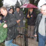 Tiszteletadás az 1848-49-es hősök előtt – 2018 – Nyitrai temető – Balról: Mészáros Ferenc és Szekeres László (foto: )